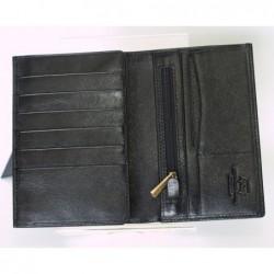 98f423016d15b Wittchen 21-1-033 portfel męski na paszport czarny id 3349 - FK Subiekt