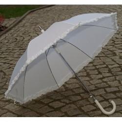 Parasol biały ślubny duży z...