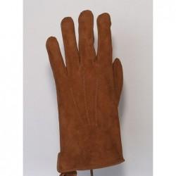 Rękawice męskie z weluru...