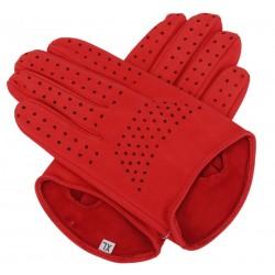 Rękawiczki męskie czerwone...