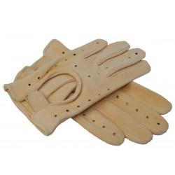 Rękawiczki męskie z sarniej...