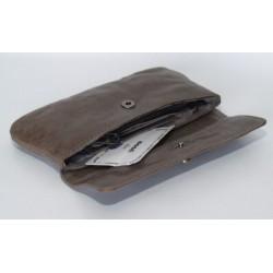 Adax szary portfel duży 7...