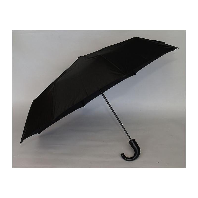 Parasol Pierre Cardin czarny półautomat ,mocny ..